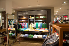 Marc OPolo clothing store Stock Image