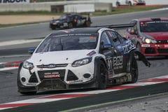 MARC samochodów Australia drużyna Marc ostrość V8 24 godziny Barcelona Zdjęcie Stock