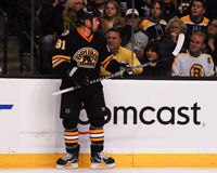 Marc Savard Boston Bruins Lizenzfreies Stockfoto