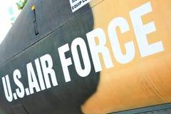 Marcação da força aérea foto de stock royalty free