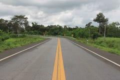 Marcação de estrada foto de stock