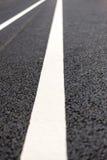 Marcações de estrada Imagem de Stock