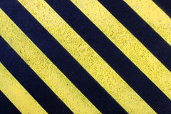 Marca amarela da estrada Foto de Stock Royalty Free