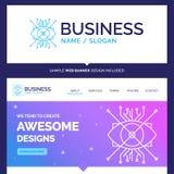 Marca bonita AR do conceito do negócio, aumento, cyber, e ilustração stock