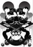Marca de fábrica X de la música Fotos de archivo libres de regalías