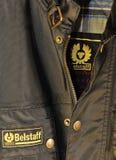 Marca de fábrica e insignia de Belstaff Foto de archivo libre de regalías