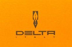 Marca de fábrica e insignia del delta Fotos de archivo