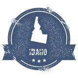 Marca de Idaho ilustración del vector