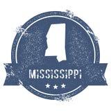 Marca de Mississippi stock de ilustración