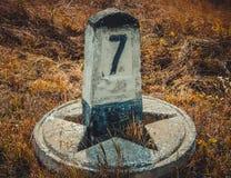 Marca de pedra 7 Fotografia de Stock