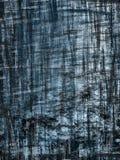 Marca de rayitas cruzadas azul del grunge Imagenes de archivo