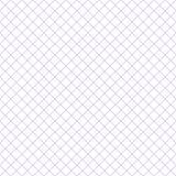 Marca de rayitas cruzadas púrpura con el fondo blanco del modelo de la repetición Foto de archivo