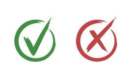 Marca de verificação ilustração do vetor