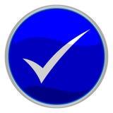 Marca de verificación Foto de archivo libre de regalías