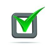 Marca de verificación Imagen de archivo