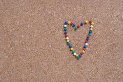 Marca del amor Imagenes de archivo