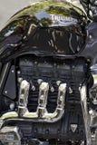 Marca del motociclo di trionfo Fotografie Stock
