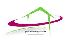 Marca del negocio de la casa Fotografía de archivo libre de regalías