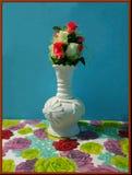 marca del papermark del papercup de los floreros de la maceta fotos de archivo