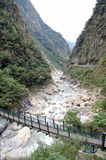 Marca del parque nacional de Taroko Imágenes de archivo libres de regalías