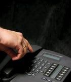 Marca del teléfono Foto de archivo libre de regalías