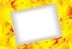 Marca del vector del otoño limpia Fotos de archivo libres de regalías