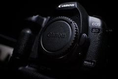 Marca ii de Canon 5d Fotos de Stock Royalty Free