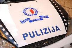 """Policía """"pulizija"""" de Malta Fotografía de archivo"""