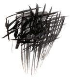 Marca negra Imágenes de archivo libres de regalías