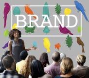 Marca registrada de marcado en caliente Logo Copyright Concept de la marca Fotografía de archivo