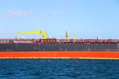 Marcado no lado do navio imagens de stock