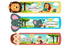 Marcador animais Imagem de Stock