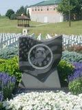 Marcador caido Ohio de los héroes Fotos de archivo