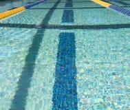 Marcador de pista da nadada Fotografia de Stock Royalty Free