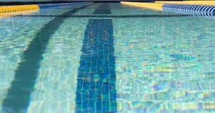 Marcador de pista da nadada Imagem de Stock