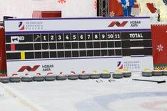 Marcador del torneo que se encrespa Imagen de archivo