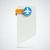 Marcador Jet Label del Libro Blanco libre illustration