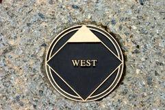 Marcador ocidental Imagens de Stock Royalty Free