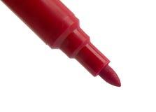 Marcador vermelho Fotografia de Stock