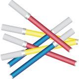Marcadores coloridos Imagem de Stock Royalty Free