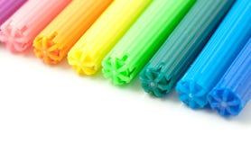 Marcadores coloridos Fotografia de Stock Royalty Free