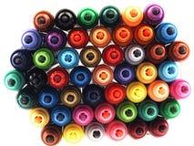 Marcadores coloridos da escola proximamente Fotografia de Stock Royalty Free
