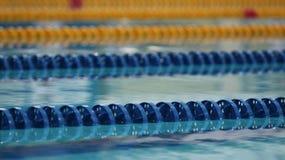Marcadores da trilha da piscina Imagem de Stock Royalty Free
