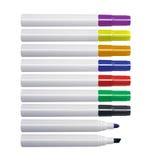 Marcadores de Whiteboard Imagem de Stock