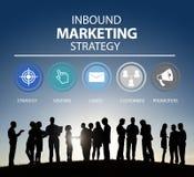 Marcare a caldo commerciale della pubblicità in arrivo di strategia di marketing royalty illustrazione gratis