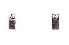 Marcas de la cotización foto de archivo libre de regalías