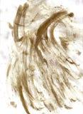 Marcas de los dedos sucias en el papel Foto de archivo libre de regalías