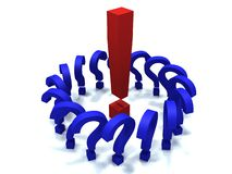 Marcas de pontuação Imagens de Stock