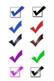 Marcas de verificación libre illustration
