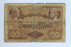 Marcas de Zwanzig Fotografía de archivo libre de regalías